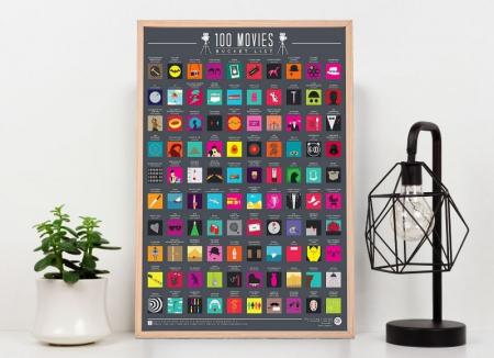 Poster razuibil 100 Filme de vazut0