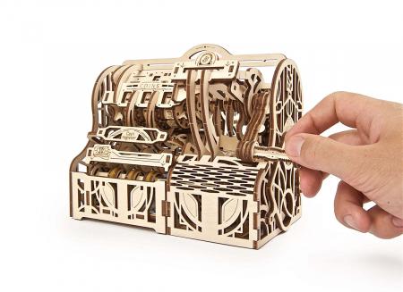 Puzzle 3D Casa de marcat din lemn Ugears2
