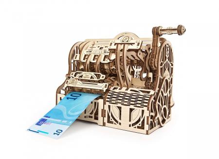 Puzzle 3D Casa de marcat din lemn Ugears3