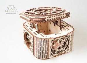 Puzzle 3D Cufar Comori - Model Mecanic din Lemn Ugears10