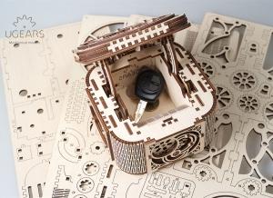 Puzzle 3D Cufar Comori - Model Mecanic din Lemn Ugears13