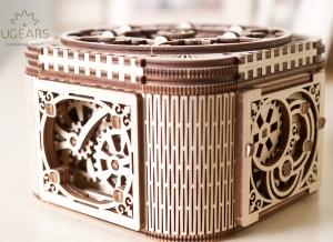 Puzzle 3D Cufar Comori - Model Mecanic din Lemn Ugears15
