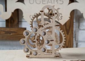 Puzzle 3D Dinamometru din Lemn Ugears3