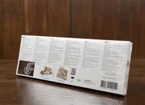 Puzzle 3D Dinamometru din Lemn Ugears10