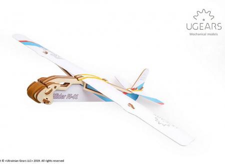 Puzzle 3D Flight Starter din lemn Ugears15