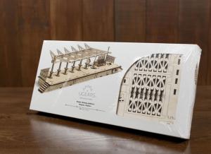 Puzzle 3D Gara din Lemn Ugears [7]