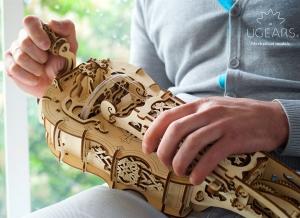Puzzle 3D Instrument Muzical - Vioara din Lemn Ugears [7]
