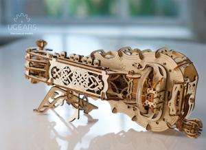 Puzzle 3D Instrument Muzical - Vioara din Lemn Ugears [4]