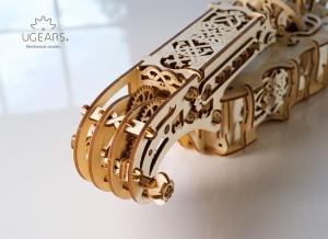 Puzzle 3D Instrument Muzical - Vioara din Lemn Ugears [16]