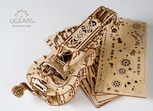 Puzzle 3D Instrument Muzical - Vioara din Lemn Ugears [15]