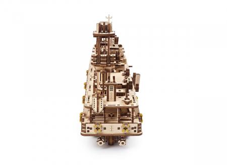 Puzzle 3D Nava de cercetare din lemn Ugears4