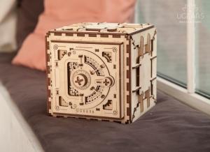 Puzzle 3D Seif din Lemn Ugears2