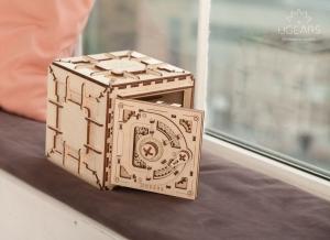 Puzzle 3D Seif din Lemn Ugears6