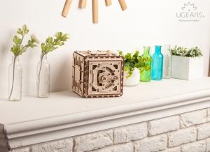 Puzzle 3D Seif din Lemn Ugears8