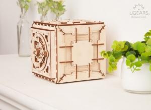 Puzzle 3D Seif din Lemn Ugears9