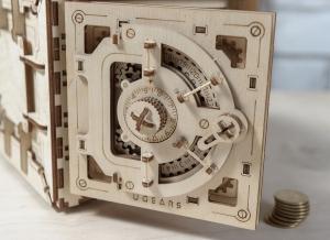 Puzzle 3D Seif din Lemn Ugears20