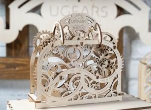 Puzzle 3D Teatru Mecanic din Lemn Ugears2