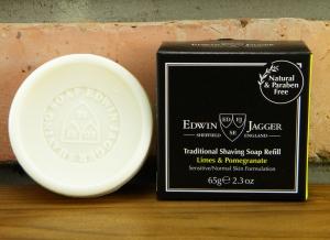 Sapun pentru barbierit Limes & Pomegranate 65G, Edwin Jagger1