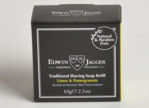 Sapun pentru barbierit Limes & Pomegranate 65G, Edwin Jagger3