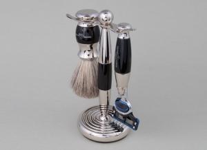 Set cadou barbati pentru barbierit 3 piese Light Horn Fusion Proglide, Edwin Jagger [0]