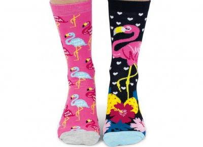 Set 6 Sosete Flamingo2