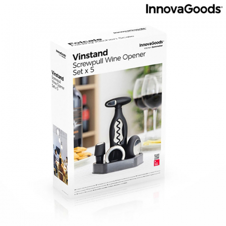 Set cadou accesorii vin cu suport elegant5
