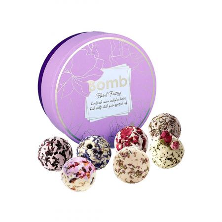 Set cadou sare de baie 7 arome Floral Fantasy, Bomb Cosmetics4