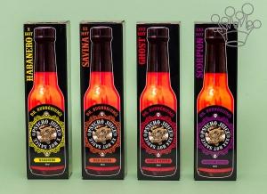 Set de 4 sosuri super picante PSYCHO Juice5
