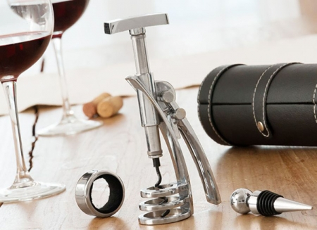 Set luxos de accesorii pentru vin0