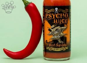 Sos picant Psycho Juice Red Savina Pepper [iuteala 9]2