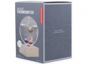 Termometru Galileo cu suport de fag3