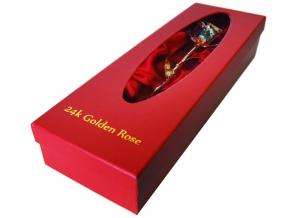 Trandafir placat cu aur de 24K4