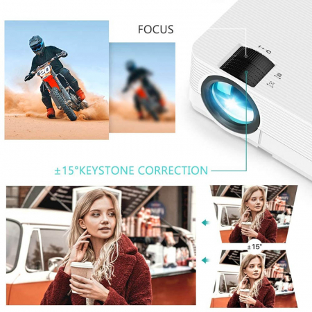 Videoproiector LED Vankyo Leisure 470, 4000 Lumeni, Geanta transport si telecomanda6