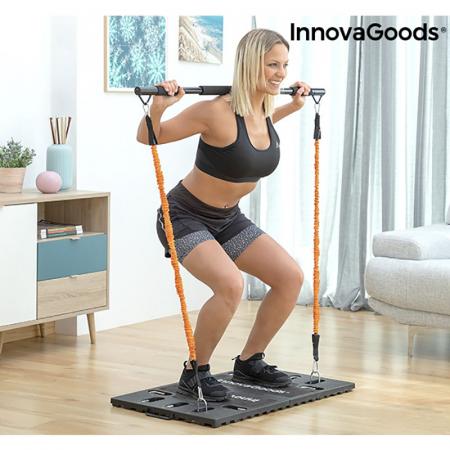 Aparat fitness multifunctional, cu ghid exercitii si geanta voiaj3