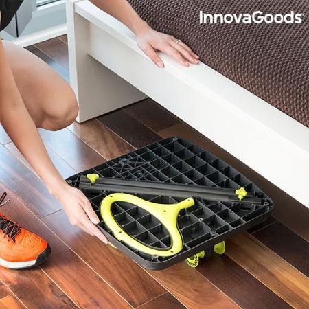 Aparat fitness pentru picioare si muschi fesieri cu ghid de exercitii2