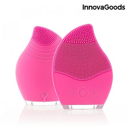 Aparat masaj si curatare faciala Pinky, din silicon4