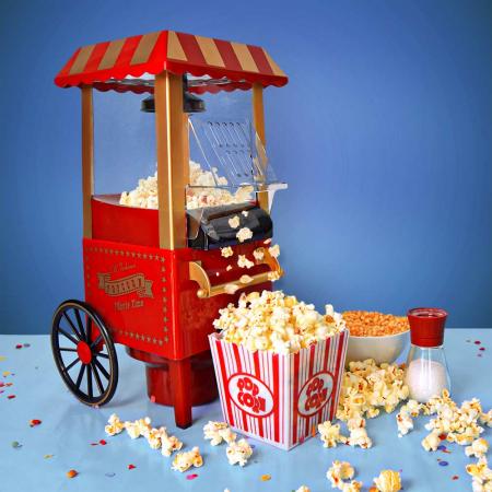 Aparat popcorn fara ulei Movie Time0