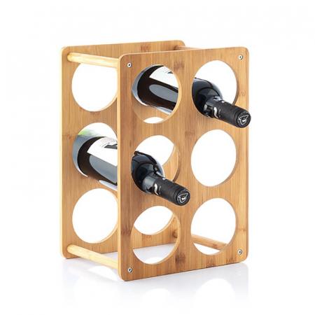 Bamboo Rack pentru 6 sticle de vin2