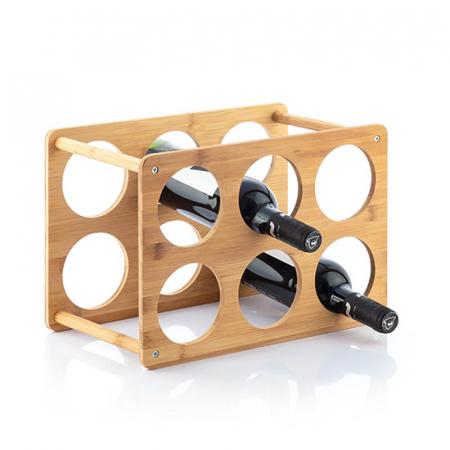 Bamboo Rack pentru 6 sticle de vin1