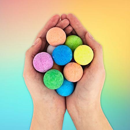Bath Bombs Rainbow0