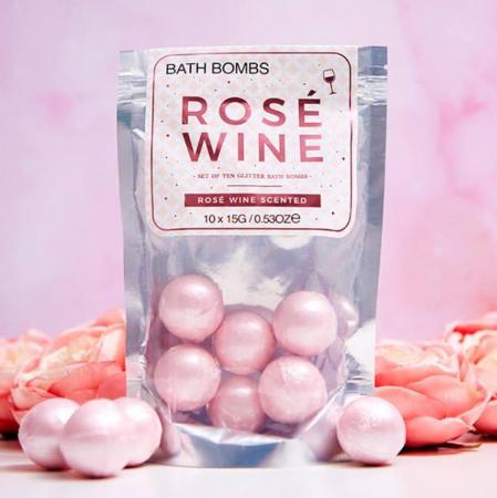Bath Bombs Rose Wine [0]