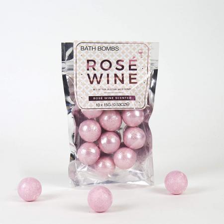 Bath Bombs Rose Wine [1]