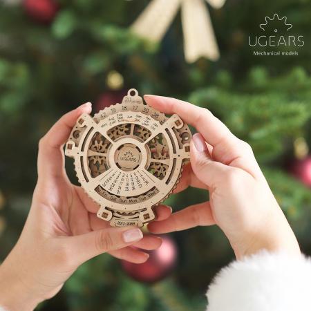 Calendar Steampunk din Lemn Ugears0