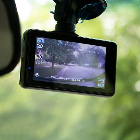 Camera auto DVR Apeman C450, Full HD, G-Sensor, Mod parcare, Filmare in bucla0