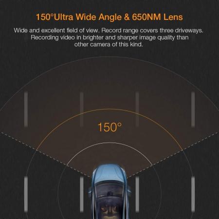 Camera auto DVR Apeman C450, Full HD, G-Sensor, Mod parcare, Filmare in bucla1
