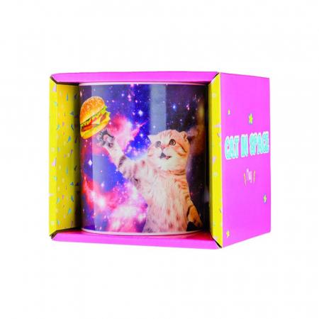 Cana amuzanta Pisica in spatiu [3]