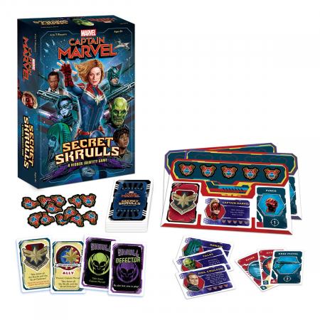 Captain Marvel: Secret Skrulls0