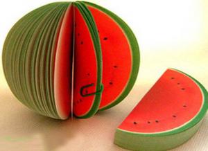 Carnetel de notite in forma de fructe0