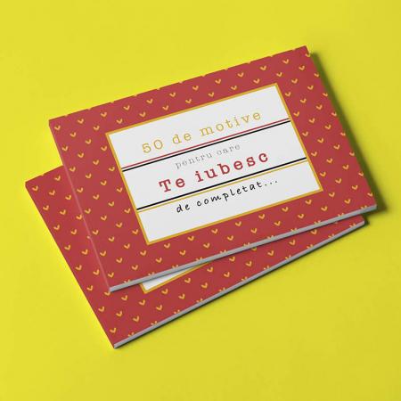 Carte cadou Iubita 50 Motive pentru care te iubesc0