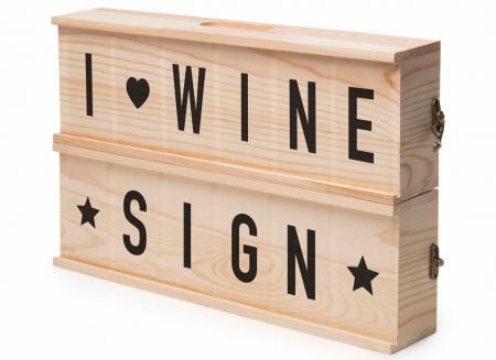 Caseta cu mesaje pentru vin1